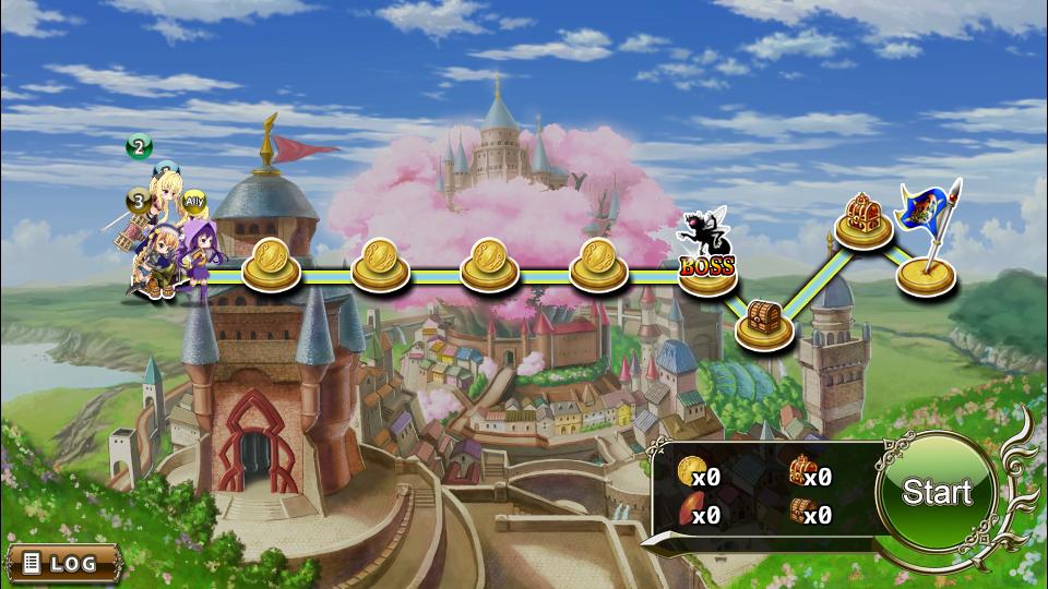 Flower Knight Girl screenshot
